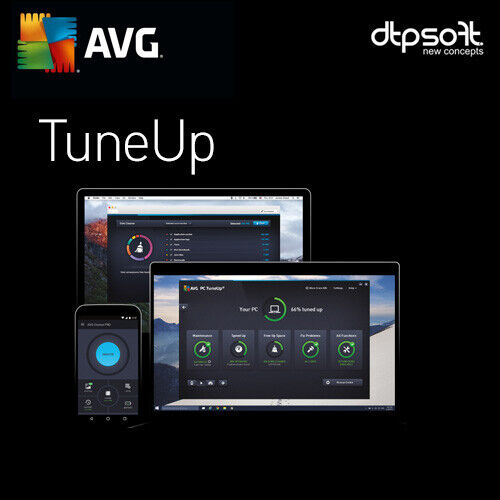 AVG PC TuneUp 2021 3 PC 3 Devices 12 Months License PC 3 users Tune Up US