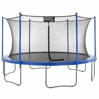 Durable, Sturdy 14' Trampoline w/ Enclosure & Protective Net