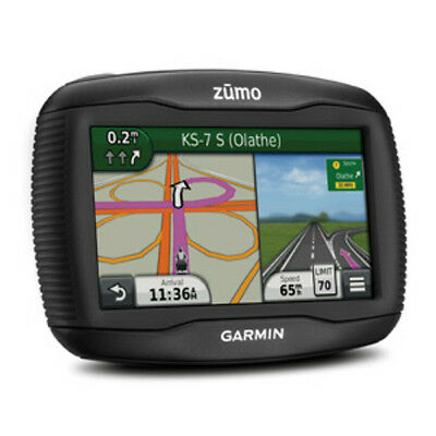Garmin Zumo 390Lm 4 3  Motorcycle Gps With Lifetime Map Updates
