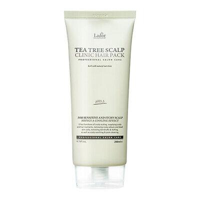 [Lador] Tea Tree Scalp Clinic Hair Pack 200g