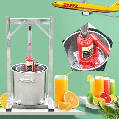 Trituradora de acero de prensa de fruta / uva 12L para sidra,...