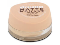 Maybelline Dream Matte Mousse Foundation 16 Vanilla 30ml;new -House Clearance - smoke&pet free home