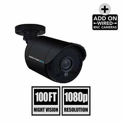 Night Owl 1080p HD Analog 100' Day Night Security Add-on Camera CM-HDA10B-BU Day Night Security Camera