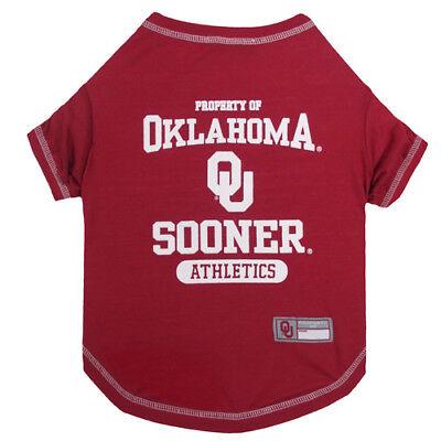 Oklahoma Kostüme (OKLAHOMA SOONERS NCAA dog pet Tee Shirt  (all sizes))