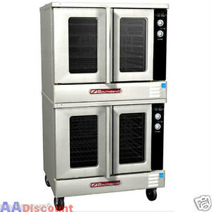 NEW SOUTHBEND GAS COMMERCIAL BRONZE CONVECTION OVEN DOUBLE DECK BGS22SC