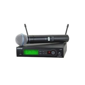 Shure SLX24/BETA58 Wireless Handheld System with BETA58A Mic