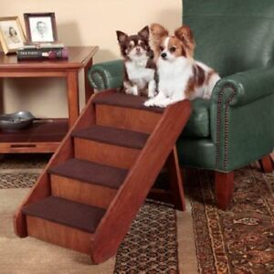 PET STAIRS DELUXE WOOD