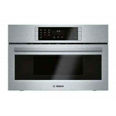 """Bosch 800 30"""" 2-in-1 Built-In SS Covenction Microwave Oven HMC80252UC EXLNT"""