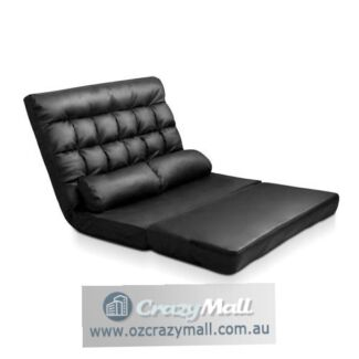 10 positions PU Leather Double Size Adjustable Lounge Sofa