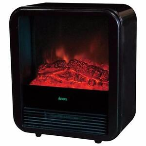 Maya Electric Fireplace EA0015 – Black - Brand New