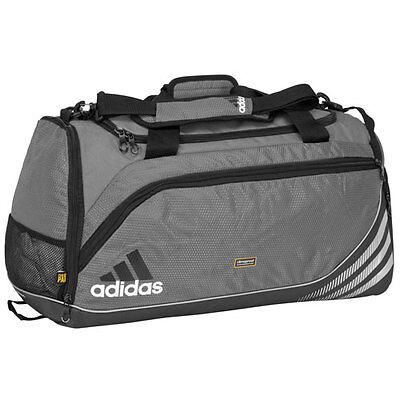 Adidas Team Sd Training Duffel Bag Gym Fitness Soccer Travel New Gray