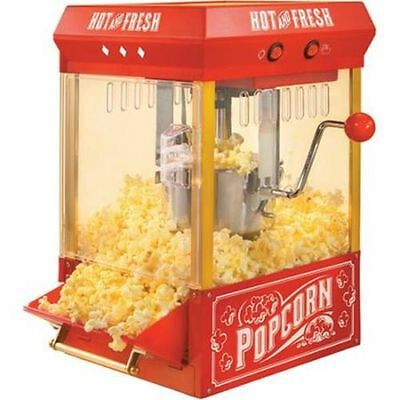الة صنع الفشار جديد Nostalgia Electrics Kettle Popcorn Machine Popper  Popcorn Maker NEW