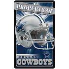 WinCraft Dallas Cowboys NFL Signs