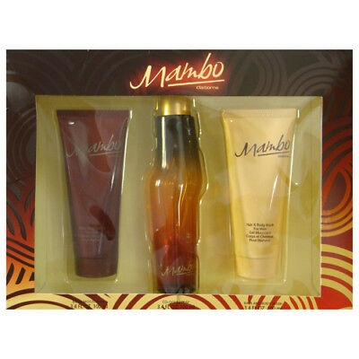 MAMBO by Liz Claiborne Gift Set for MEN: COLOGNE SPRAY 3.4 O