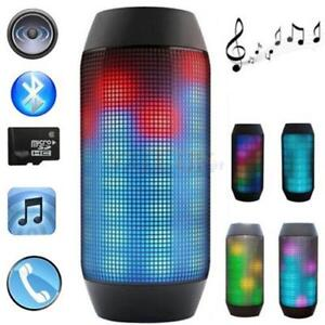 Wireless LED Bluetooth Speaker Pulse for iPhone Tablet PC