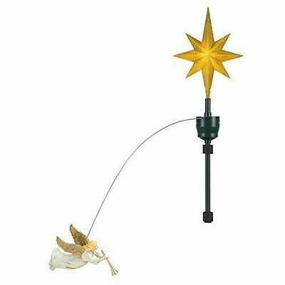 Mr. Christmas 49324 Animated Tree Topper-Single Angel Holiday Decoration,