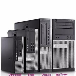 Dell Optiplex 7010 Desktop Form Factor PC Intel i7-3770 3.4GHz CPU 8GB RAM 320GB SATA HDD DVDRW Windows 7Pro