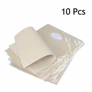 10 x Learning Blank Tattoo Tattooing Fake Practice Skin 20 x 15cm