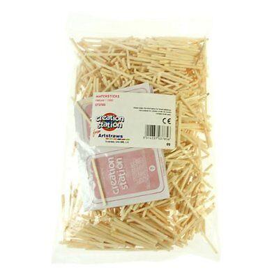 Match sticks For Craft  Pack of 1000 matchsticks  Natural CT3785