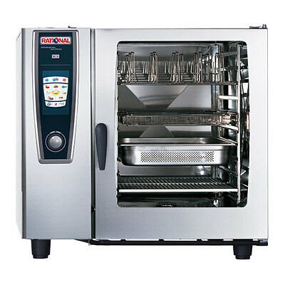 Rational Model 102 A128106.43 Electric Combi Oven With Ten Full Size Sheet Pan
