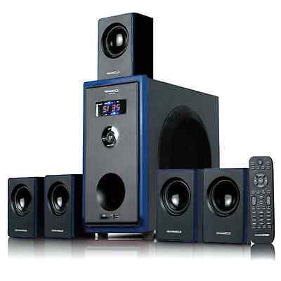 Acoustic Audio 800W 5.1 Channel Home Theater Surround Sound Speaker System New