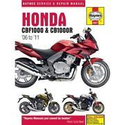 Haynes Manual Honda CBF 1000