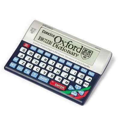 GENUINE SEIKO ER6700 CONCISE ELECTRONIC OXFORD DICTIONARY/THESAURUS/ENCYCLOPEDIA