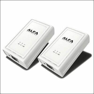 Ethernet Bridge Kit - ALFA AHPE305 2-pack Powerline Ethernet Bridge Adapter 200 mbps kit