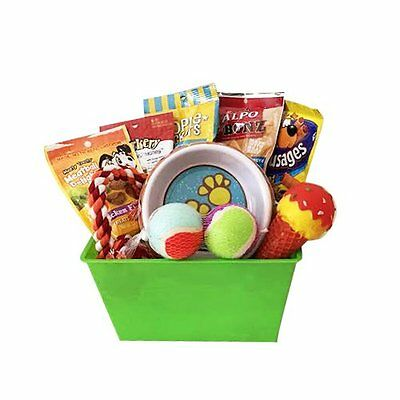 Dog Gift Basket Treats Crewing Toy Great Arrival Gift set