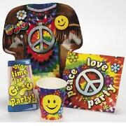 60'S Party Supplies