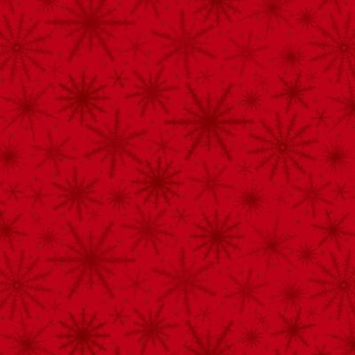 Holiday Wishes By Henry Glass - Red Snowflakes  #6932-88 - Red Snowflakes