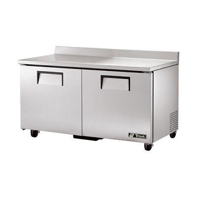 True Twt-60 Worktop Refrigerator 2 Door 15.5 Cu. Ft.