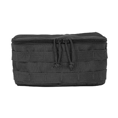 Voodoo Tactical Rounded Utility Pouch Magazine Gear MOLLE WEB Dump Pouch Black