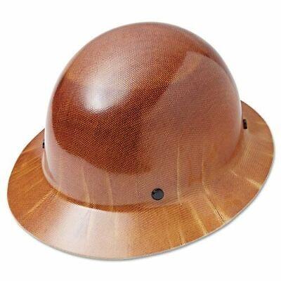 Skullgard Fas-trac Suspension Msa475407 Natural Tan Hard Hat New