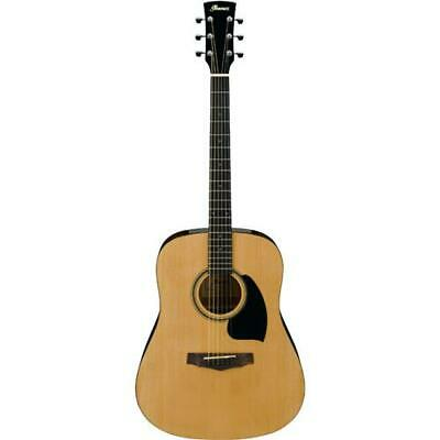Ibanez Performance Dreadnought Acoustic Guitar, Natural #PDR10NT