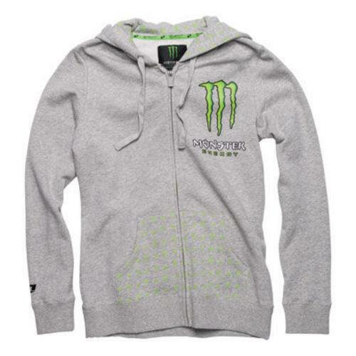 womens monster energy hoodie ebay. Black Bedroom Furniture Sets. Home Design Ideas