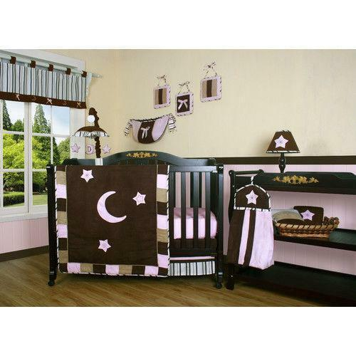 Moon And Stars Crib Bedding Ebay