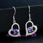 Purple Amethyst Fashion Earrings