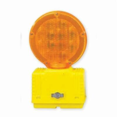 Cortina 03-10-3way6v Strato-lite Barricade Light Construction Zone Orange Flash