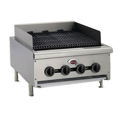 Wells Hdcb-3630g 36 Wide Natural Gas Countertop Charbroiler