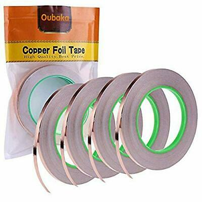 4 Pack Copper Foil Tapecopper Tape Double-sided Conductive With Adhesive