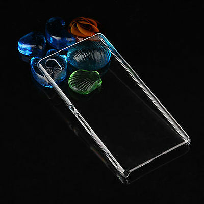 Crystal Clear Transparent Hard Case Skin Cover For Sony xperia series