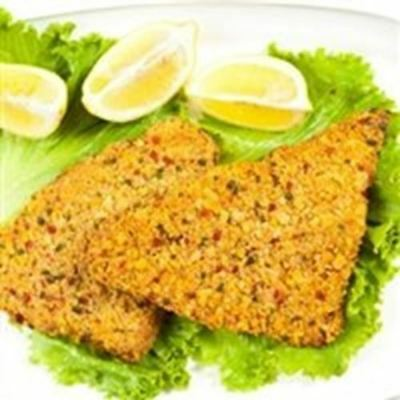 Today Gourmet - Tilapia - Tortilla Crusted 6/7oz Fillets (5Lbs) 7 Oz Fillets