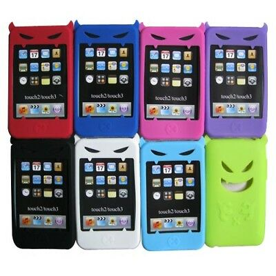 (Devil Silicone Case Skin Cover For Apple iPod Touch 2nd 3rd Gen 2G 3G iTouch )