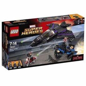 LEGO Super Heroes 76047 Captain America Civil War Black Panther Pursuit Playset: Brand new