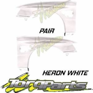 PAIR HERON WHITE GUARDS SUIT VZ SS HOLDEN COMMODORE & HSV FENDER Bayswater Knox Area Preview