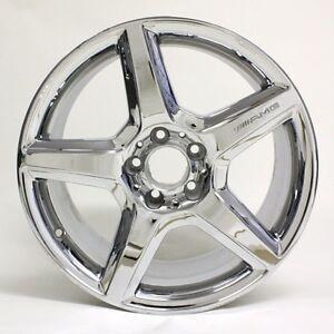 18 mercedes benz e class e550 2008 2009 amg chrome wheels for Mercedes benz e550 rims for sale