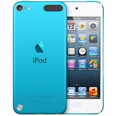 REFURBISHED Apple iPod Touch 16GB Blue i Pod MP3 Player 16 GB ( 5th Generation )