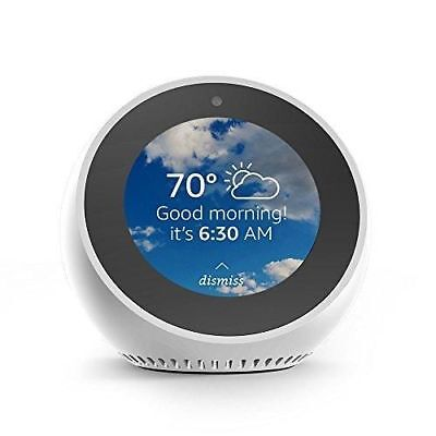 New Amazon Echo Spot With Alexa White Color Us Seller Global Shipping Ship Fast