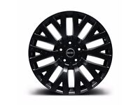 Range Rover Sport Vogue Discovery 20 inch Alloy Wheels Black Kahn RS Set of 4